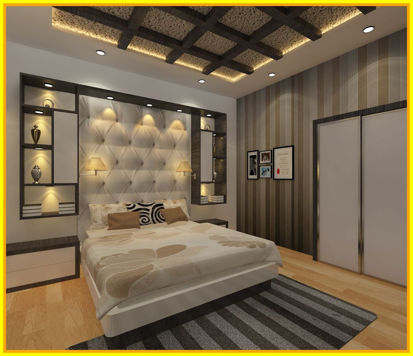 40 Reference Of Modern Master Bedroom Ideas 2018 In 2020 Bedroom False Ceiling Design Ceiling Design Bedroom False Ceiling Bedroom