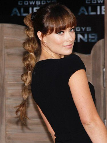 Try Olivia Wilde S Stunning Do By Going Down Your