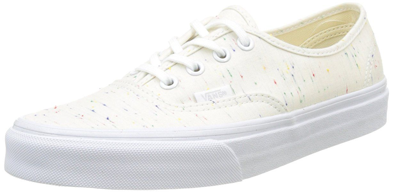 Vans Damen UA Authentic Sneakers, Elfenbein (Speckle Jersey