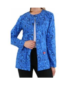 Dickies Gen Flex Kersplat print scrub jacket - Kersplat # ...