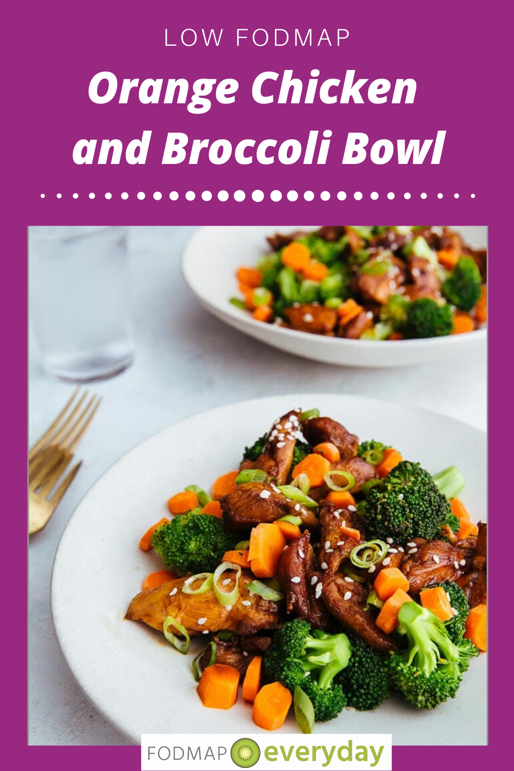 Low Fodmap Orange Chicken And Broccoli Bowl Fodmap Everyday Recipe In 2020 Low Fodmap Diet Recipes Fodmap Recipes Low Fodmap Chicken