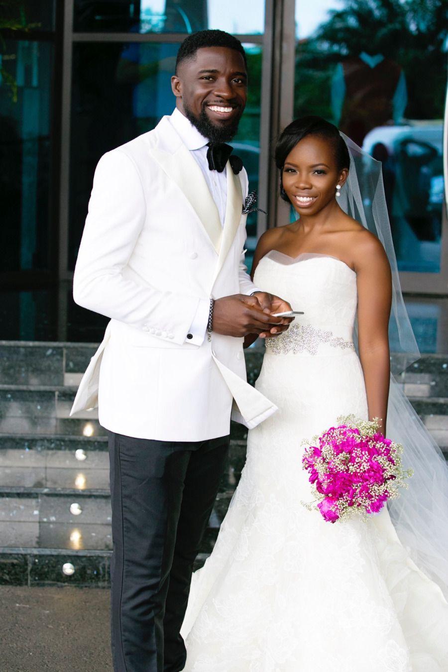 Modern Lagos Wedding at Ruby Gardens, Nigeria | Couples