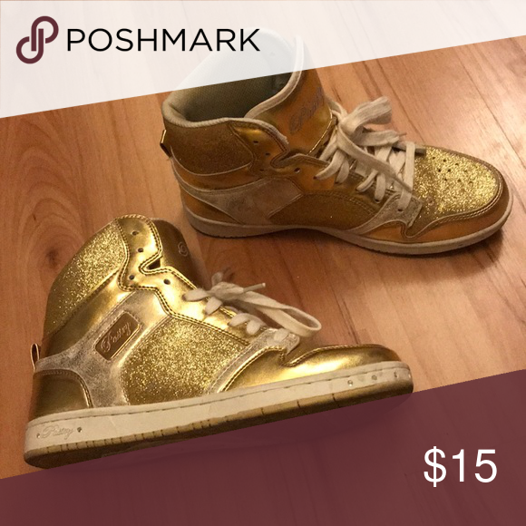 Pastry Gold Sneakers | Sneakers, Gold