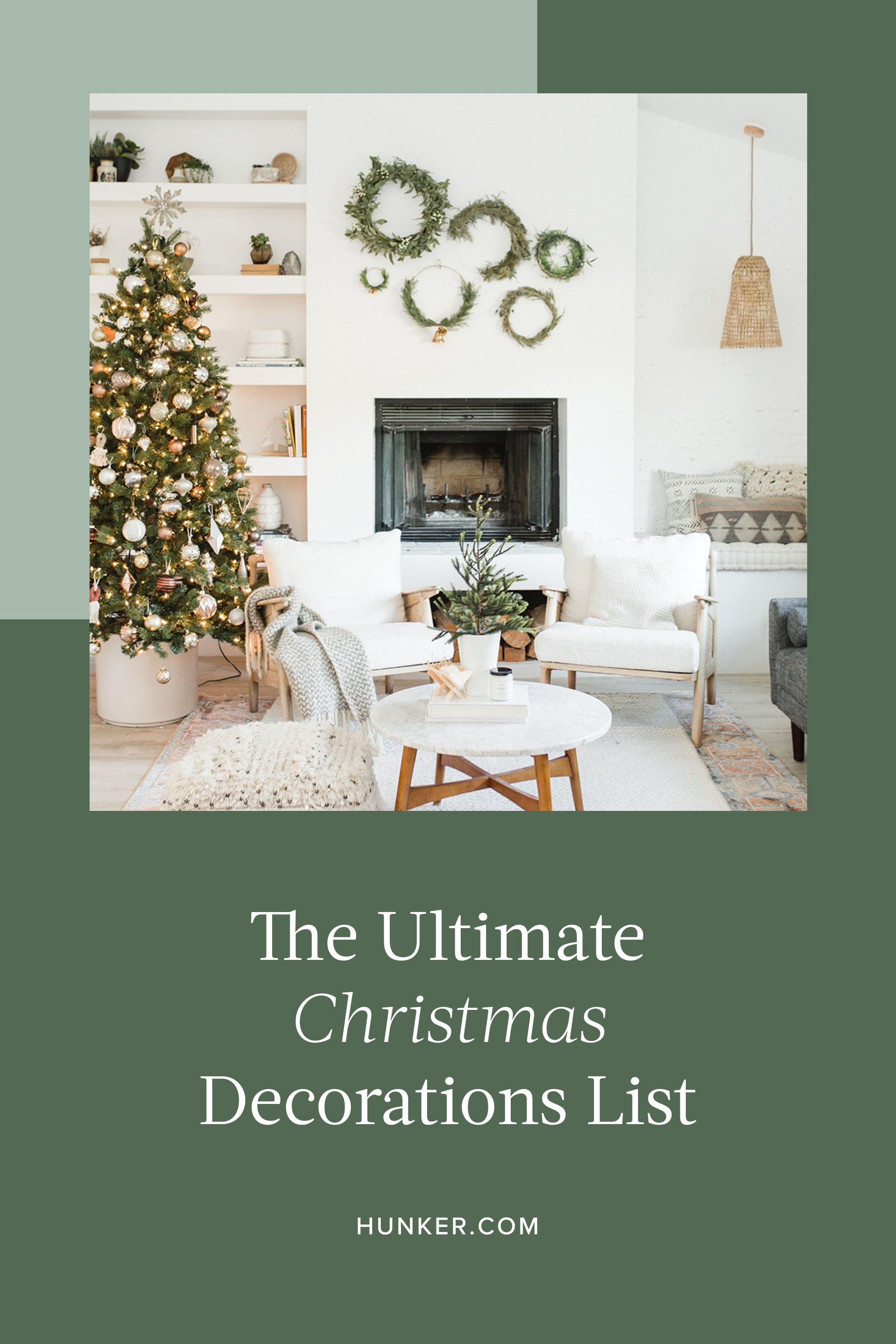 A Handy Christmas Decorations List To Ensure Your Holiday Season Is Merry And Bright Hunker Christmas Decorations List Christmas Decorations Decor