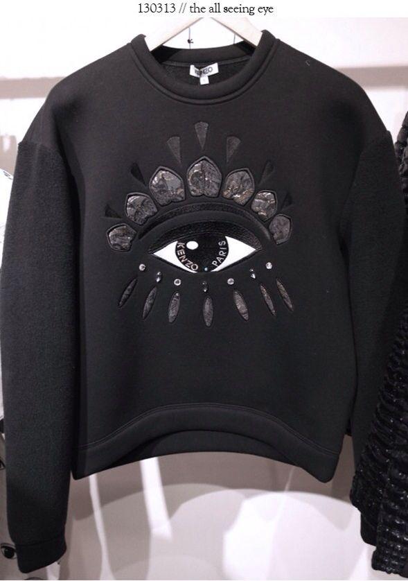 kenzo one eye sweater