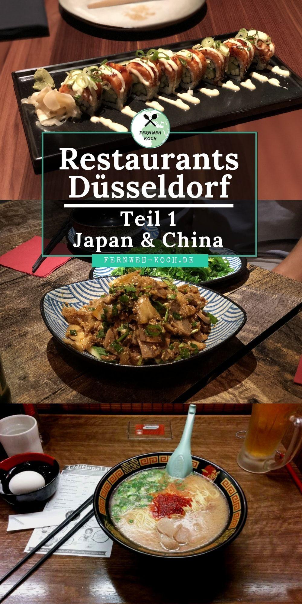 Düsseldorfer Restaurants - Japan und China  Restaurant düsseldorf