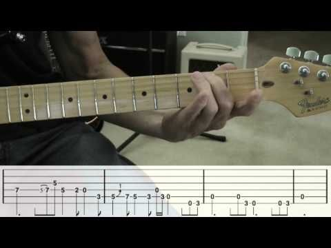 House Of The Rising Sun Guitar Solo W Tabs Youtube Guitar
