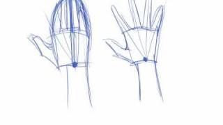 How to Draw Hands, via YouTube.