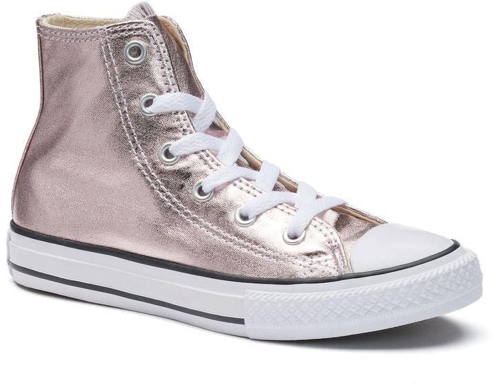 Girls' Converse Chuck Taylor All Star Metallic High Top