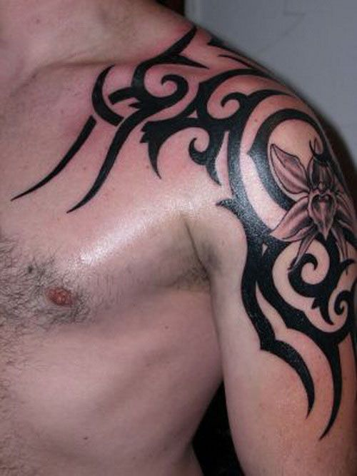 Modele Tatouage Epaule Homme Tribal Tatouage Tribal Homme Tatouage Epaule Modele Tatouage