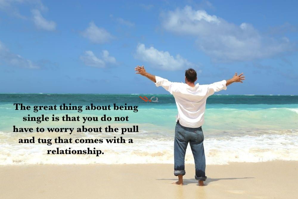 Sayings single life