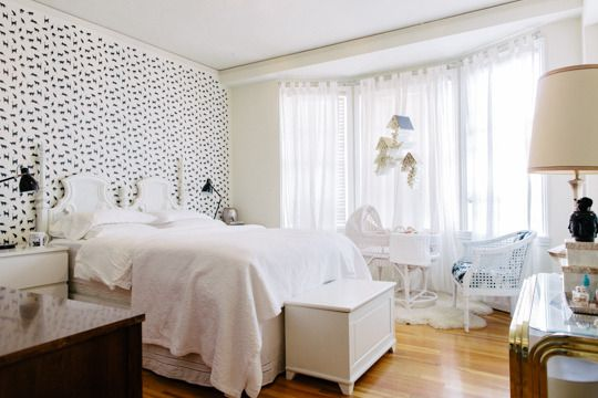 Alexis & Josh make room for 3 : Apartment Therapy  nursery