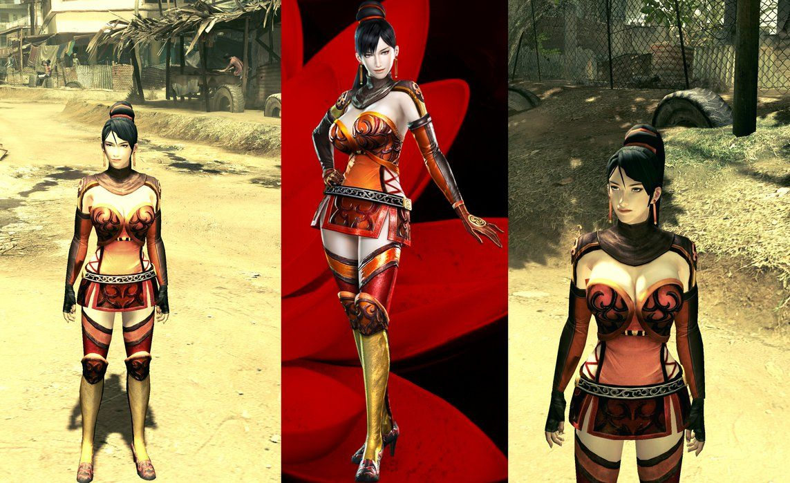 Dynasty Warriors 7 Lian Shi RE5GE Mod by user619   練師