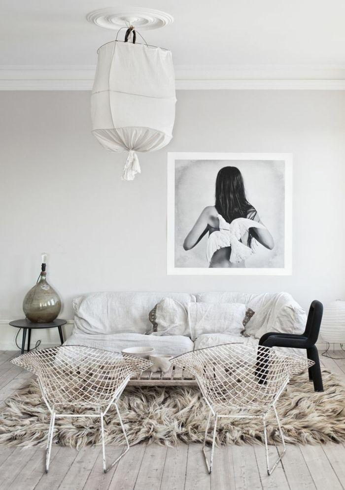 Richtig Schönes Wohnzimmer Shaggy Modell Teppich