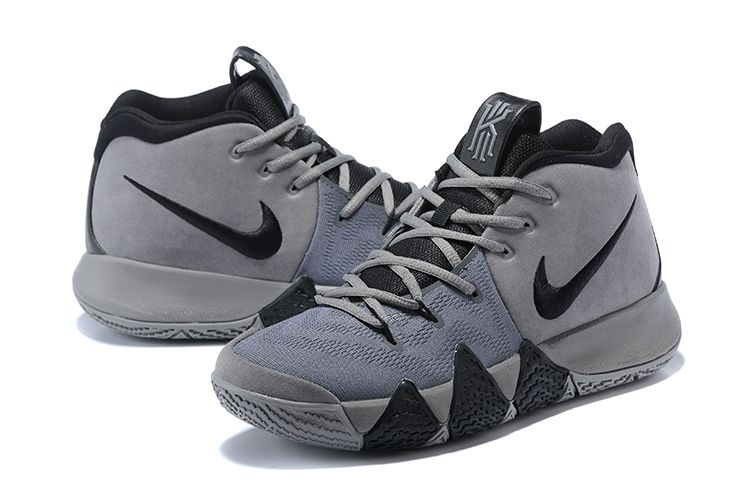 2018 Nike Kyrie 4 Wolf Grey/Black For