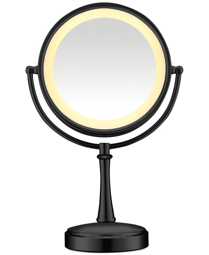 Touch Control Double Sided Lighted Makeup Mirror