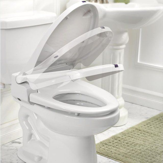 Itouchless Sensor Toilet Seat With Images Toilet Seat Cover