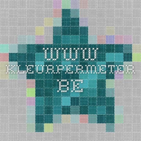 www.kleurpermeter.be