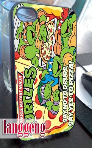 TMNT ninja turtle say yes to pizza iPhone 4/4s/5 by LanggengStore, $13.50
