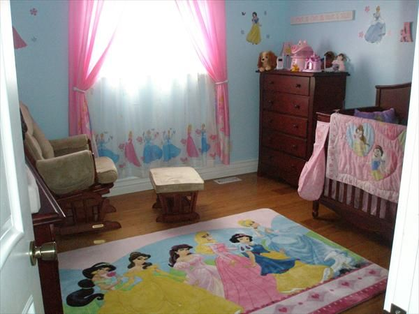 Perfect For Any Little Princess Disney Baby Rooms