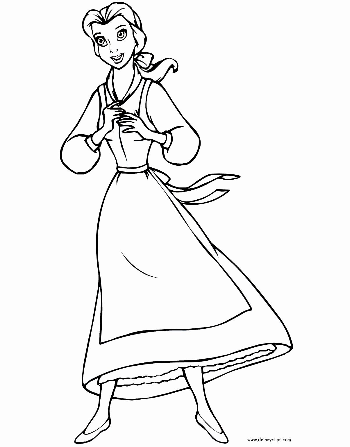 Beauty And The Beast Coloring Book New Beauty And The Beast Printable Coloring Pages 2