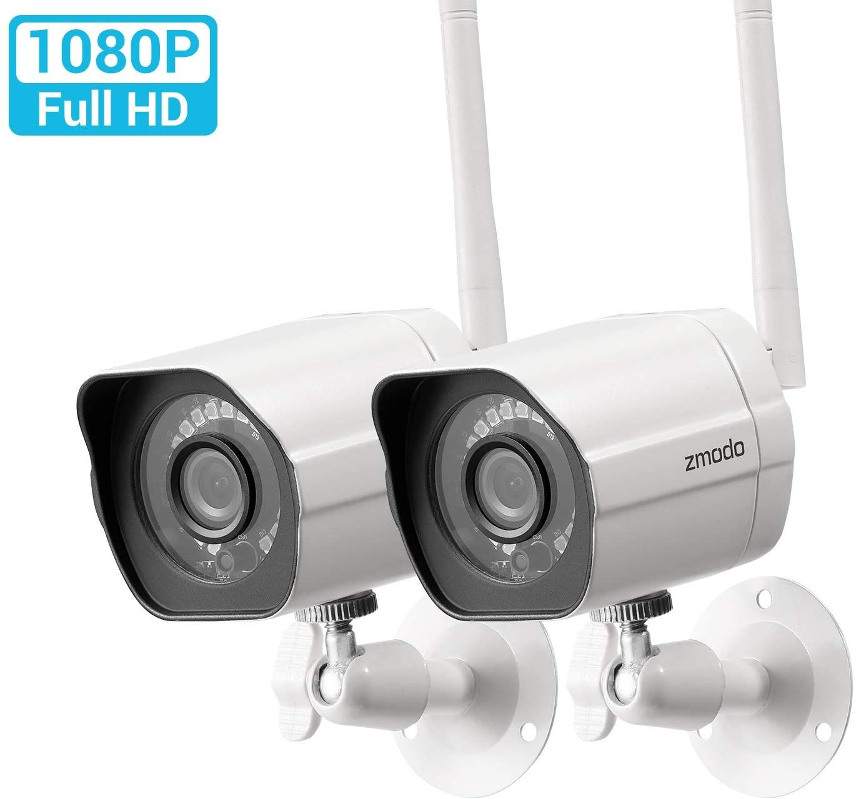 Zmodo 1080p Wireless Ip Outdoor Security Camera 2 Pack 56 99 Home Security Camera Systems Security Cameras For Home Outdoor Home Security Cameras