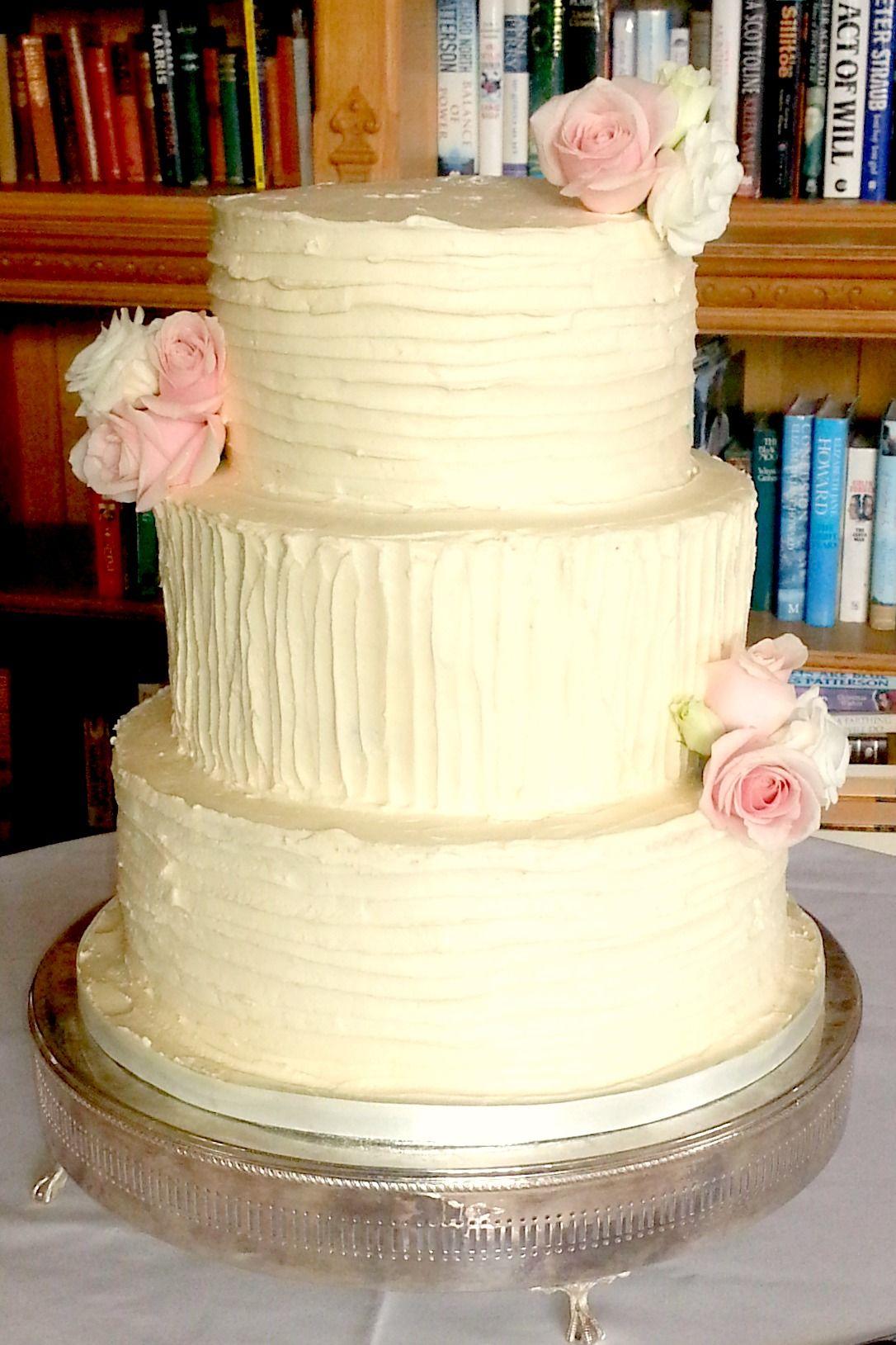 Rustic buttercream wedding cake | Amazing Cakes | Pinterest | Themed ...