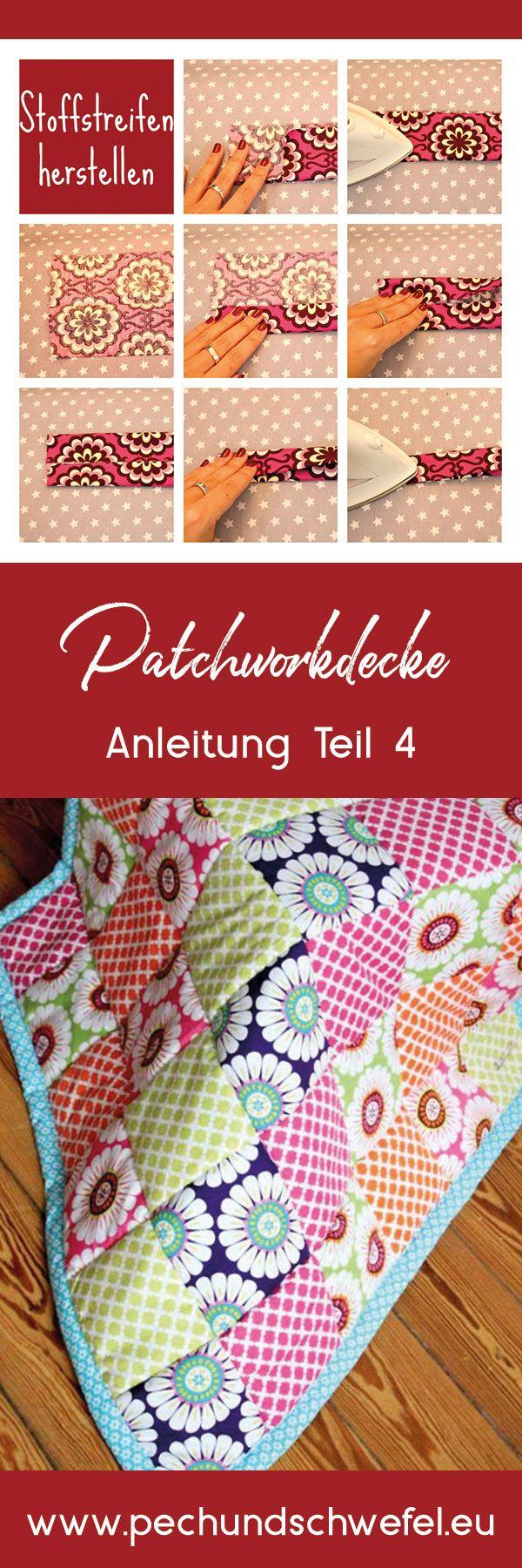 Photo of Anleitung Border Patchwork Decke – Pech & Sulphur