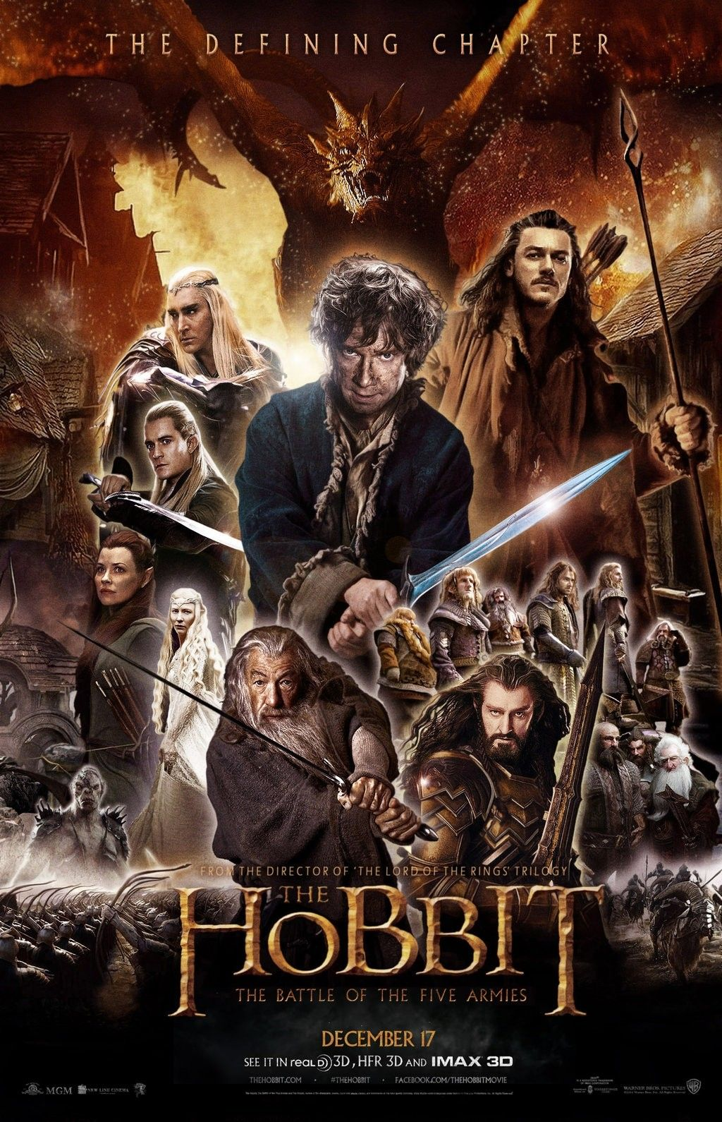 The Hobbit The Battle Of The Five Armies 2014 The Hobbit The Hobbit Movies Hobbit 3