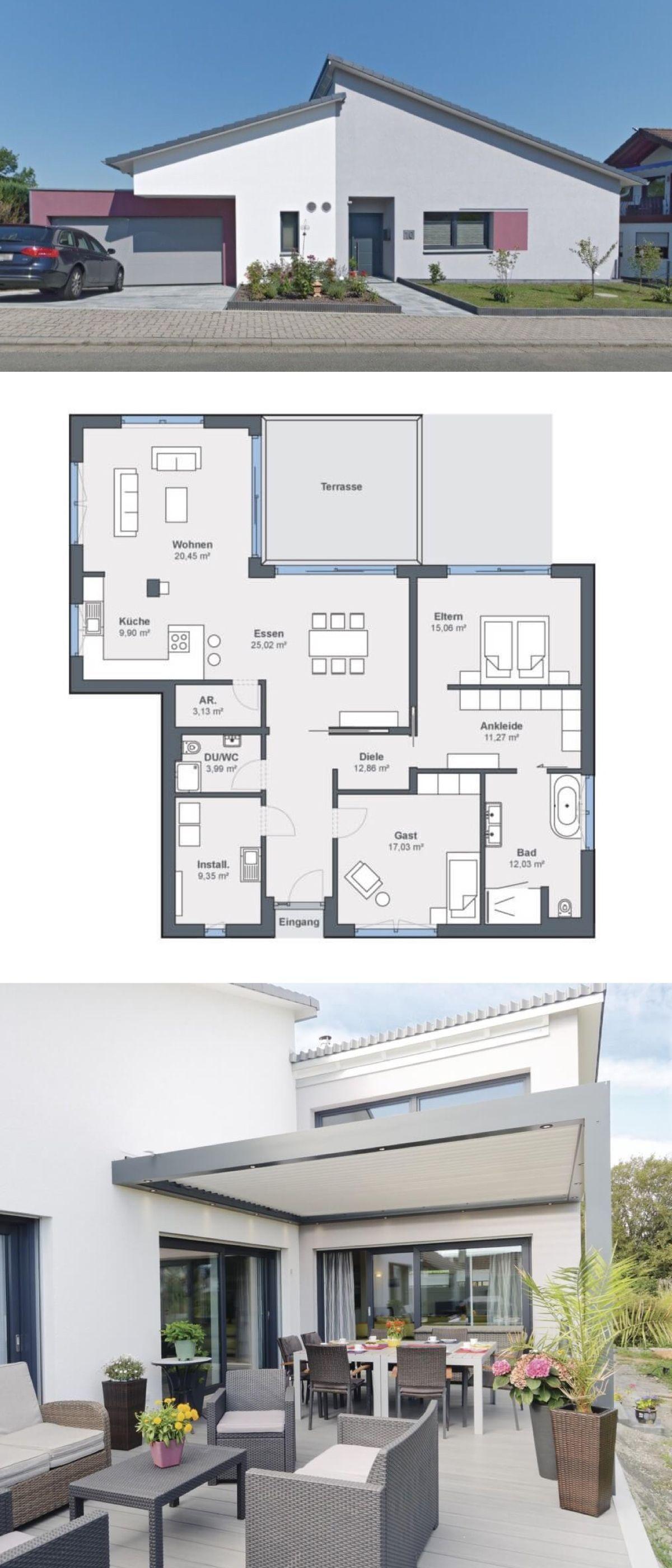 45++ Fertighaus bungalow mit garage ideen