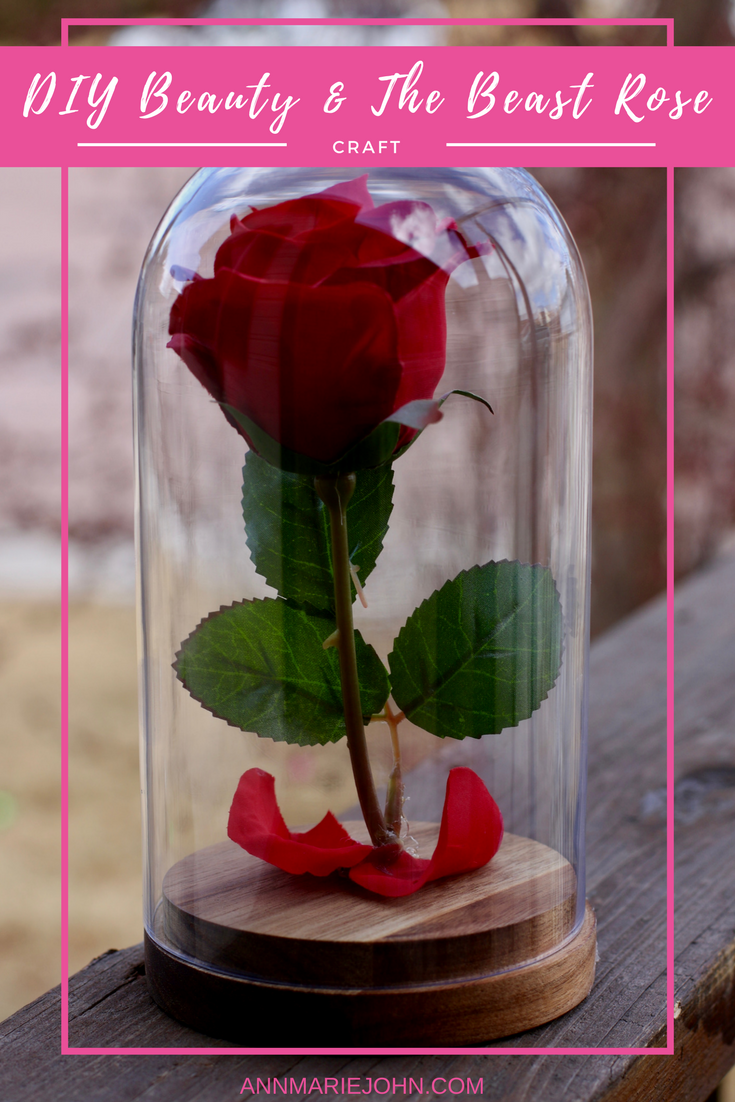 Promosimple Beauty And The Beast Rose Diy Beauty And The Beast Diy Diy Beauty