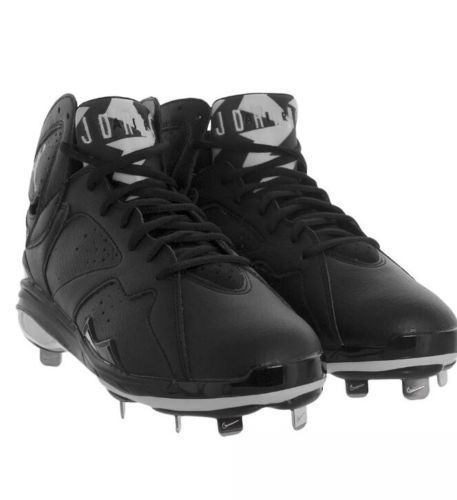 Jordan Retro Metallic Air 5 White Black Nike Silver Size 13 Baseball  Genuine New #Nike