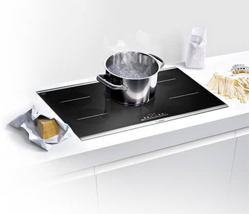 Precise Performance In An Elegant Design Bosch Induction Cooktops
