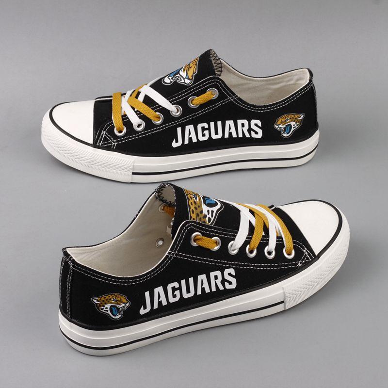 1f825de4 Women\'s NFL Jacksonville Jaguars Repeat Print Low Top Sneakers 002 ...
