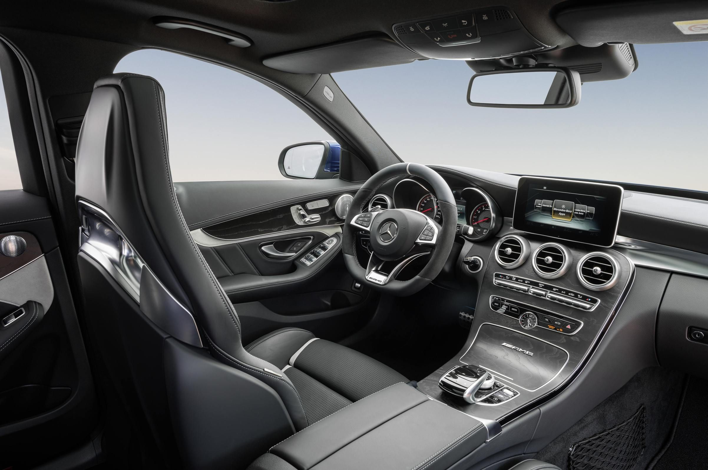 mercedes benz amg c63 estate interior