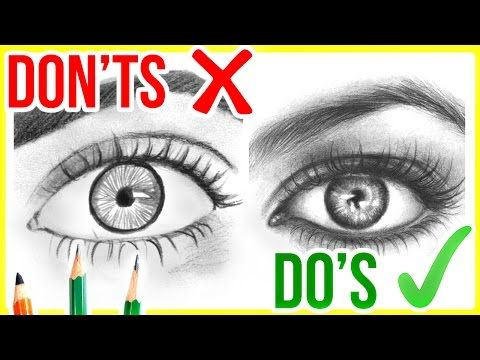DO'S & DON'TS: How To Draw a Realistic Mouth / Lips | Step ...