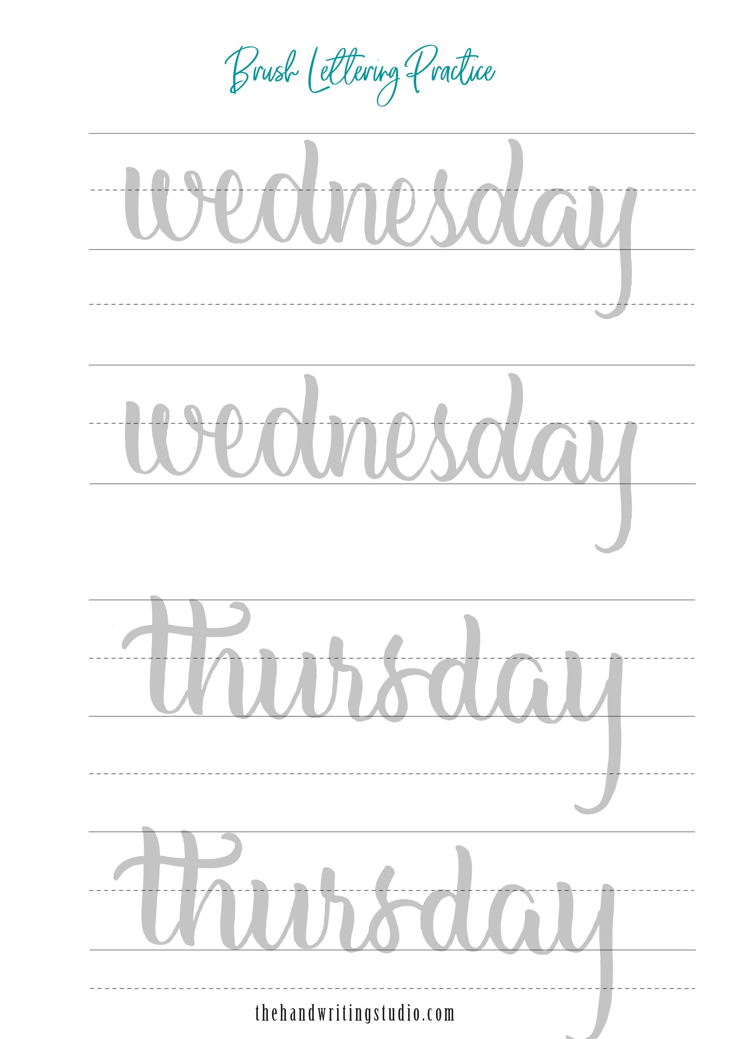 Lettering Worksheets Printable Learning How To Read