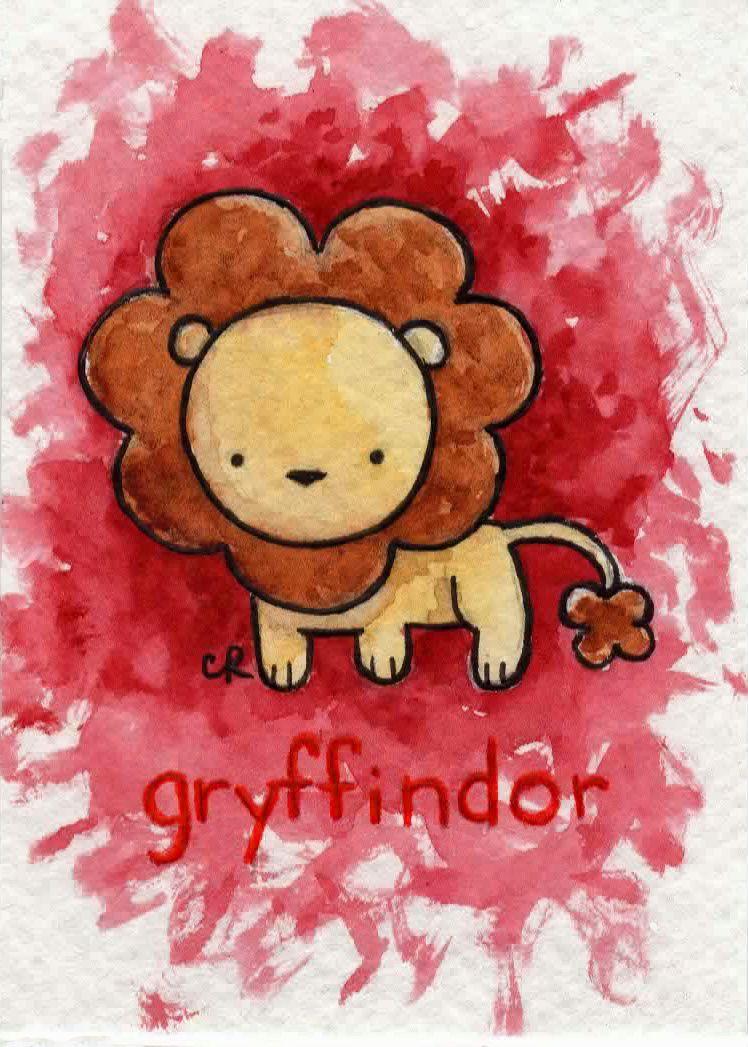 Gryffindor by tee-kyrin on DeviantArt | Dibujos de harry ...