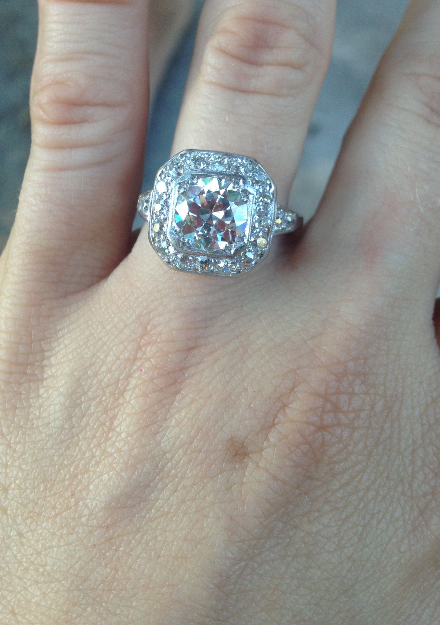 Family Heirloom Engagement Ring