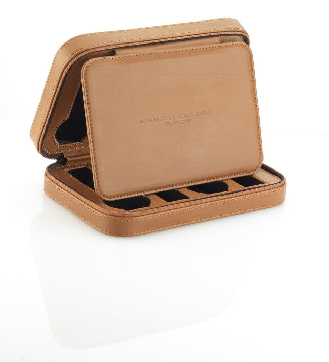 Mauriac storage case made from the finest Barenia leather