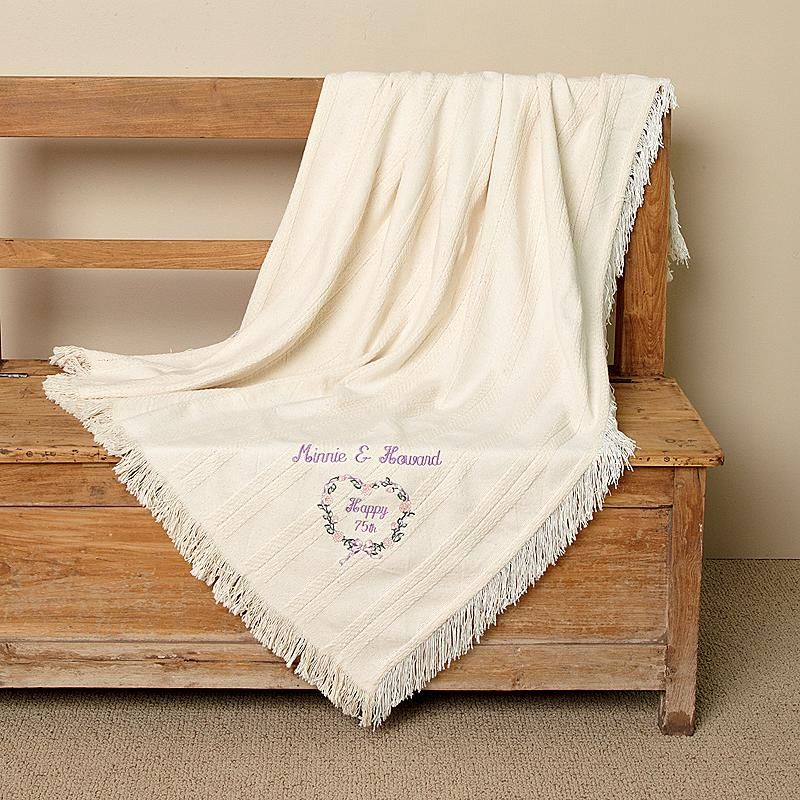Bulk Throw Blankets Heartwarming Wedding & Anniversary Throw  Afghans And Craft