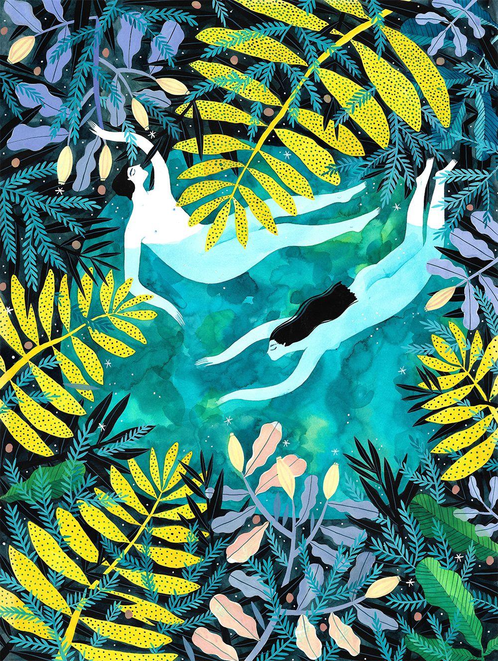 madalina andronic - Nightswimming