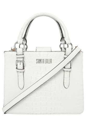 0e0366232 Bolsa Santa Lolla Craqueada Branca | Bolsas | Bolsas, Bolsas ...