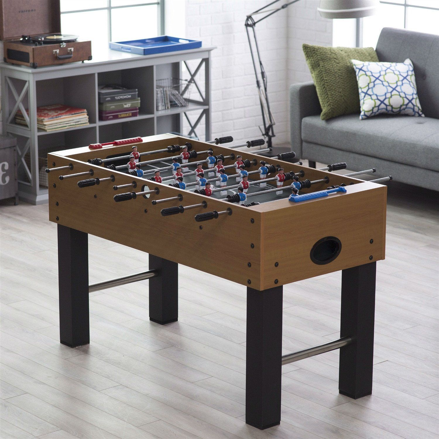 Game Room 52 Inch Foosball Table With Abacus Scoring System