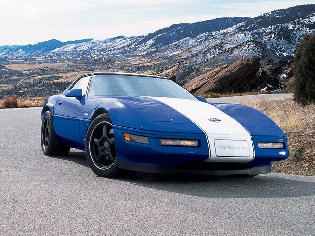 1996 Grand Sport Corvette Chevrolet Corvette Chevrolet Corvette C4 Corvette C4