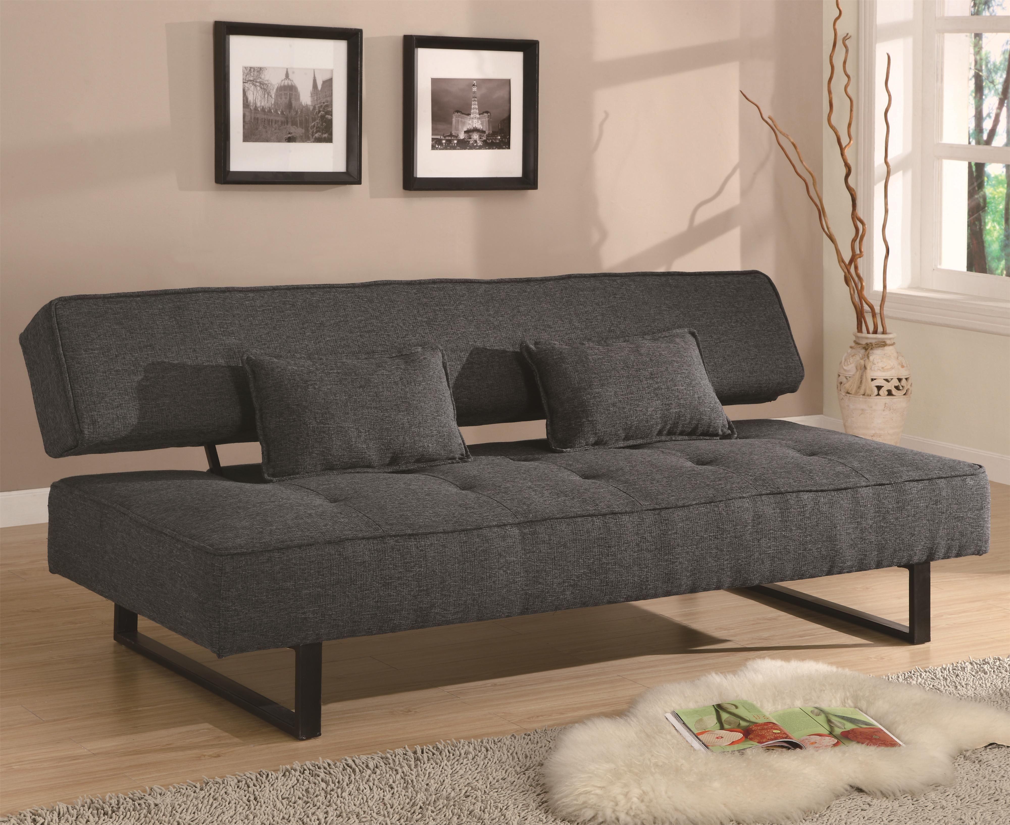 Futons Sofa Bed Sleeper Coaster Furniture 500775 Stores Sale Muebles Multifuncionales Decoracion Dormitorio Estudiantes Estilo En El Hogar