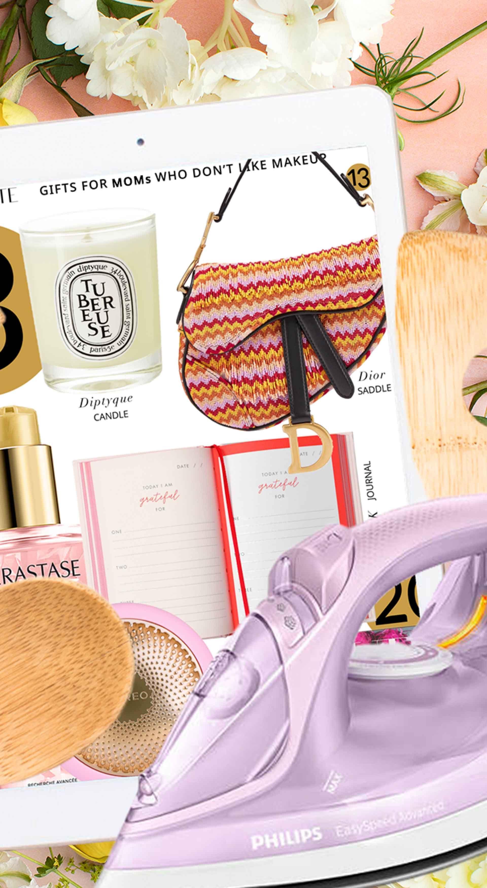 Fashion Blogger Veronika Lipar of Brunette from Wall Street sharing best no makeup gifts for mum #giftsforher #mothersday #mothersdaygift