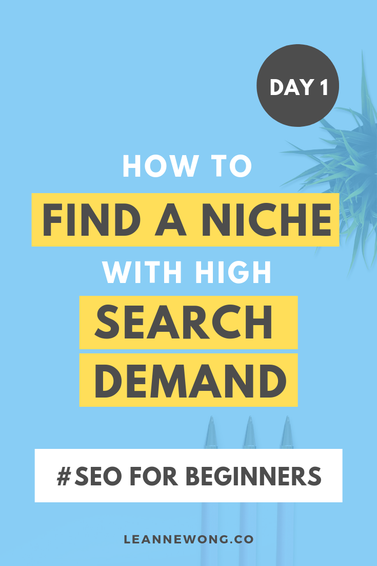 How to find a blog niche with high search demand