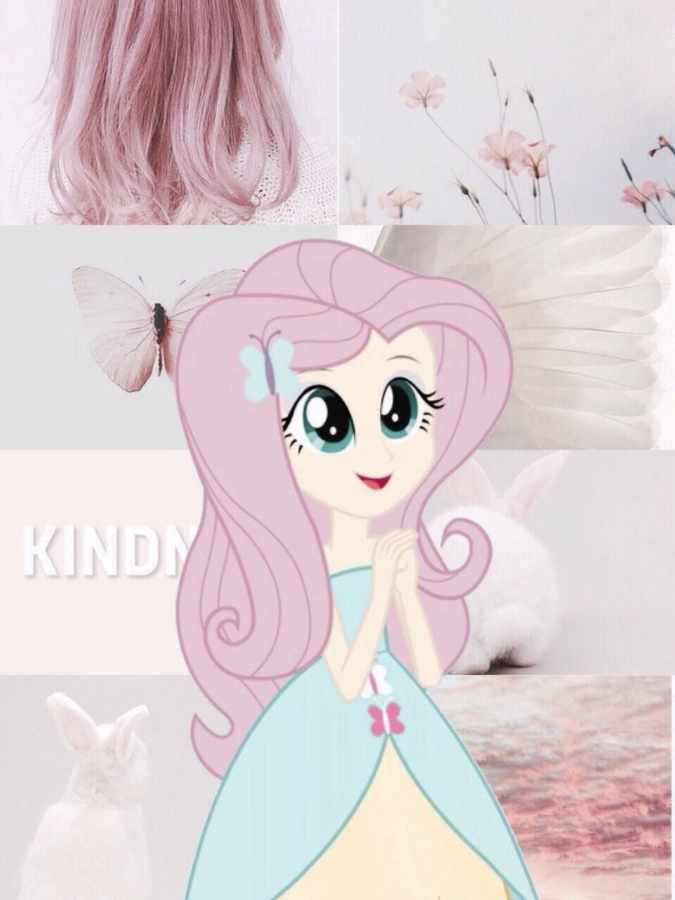 Pin By Hazel Heart On Fluttershy 4 My Little Pony Wallpaper My