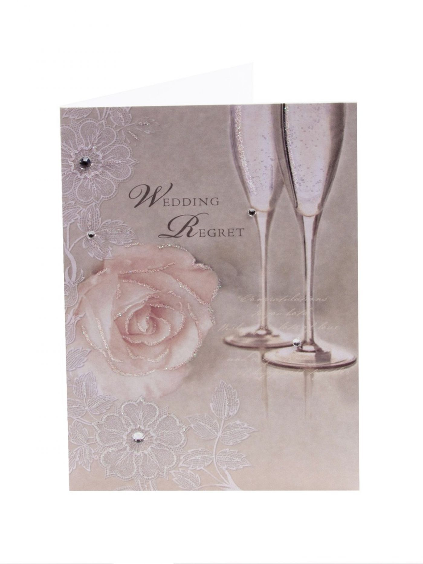 wedding regret card regret cards clintons clintons cards